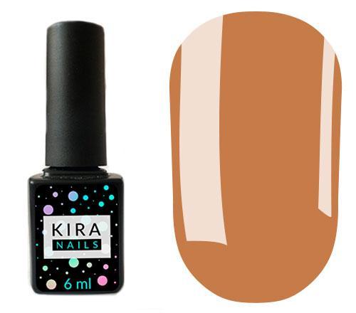 Гель-лак Kira Nails №071 (бежево-коричневый с микроблеском)