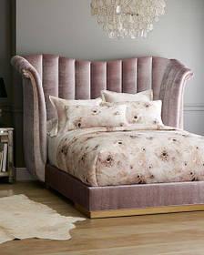 Кровать Дизайнерская Под Заказ Элегия-69 (Мебель-Плюс TM)