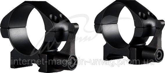 Кольца Hawke Precision Steel QD 30 мм Low. Сталь. Weaver