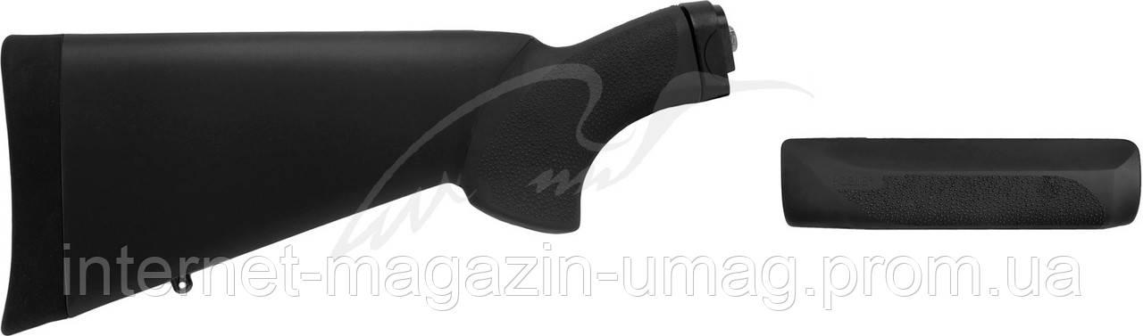 Комплект Hogue OverMolded Rem870 KIT (приклад, цевье) для 12к ц:черный