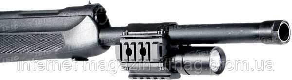 Крепление подствольное Leapers UTG на ствол диаметром 20-25мм, 3 планки