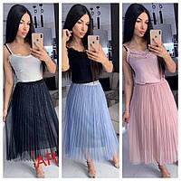 Женская  юбка фатиновая, стильная,  504-008