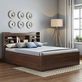 Кровать Дизайнерская Под Заказ из ДСП Egger №1 (Мебель-Плюс TM)