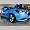 Молдинги на двері для Ford Focus Sedan 4dr, Tourer Mk3 lift. 2014-2018