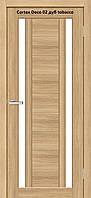 Дверь межкомнатная Омис Cortex Deco 02 ПО, разные цвета