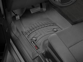 Ковры резиновые WeatherTech Cadillac Escalade 2015+ передние черные