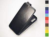 Откидной чехол из натуральной кожи для Samsung Galaxy A70s 2019 A707