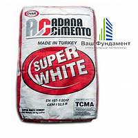 Белый цемент Adana (OYAK) Cimento, 25кг, Turkey