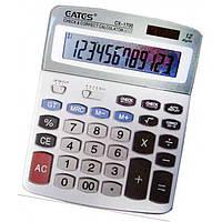 """Калькулятор """"EATES"""" CX-1700 (12 разрядный, 2 питания) без упаковки"""