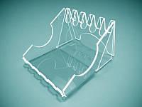 Акриловая подставка для ручек на 5 шт, 100х77х124 мм (Толщина акрила : 1,8 мм; ), фото 1