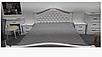 Кровать двухспальная из массива дерева с мягким изголовьем- Маргаритта  (белая), фото 2