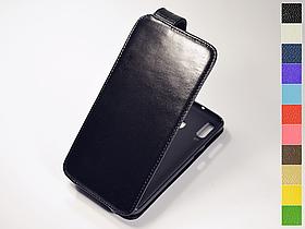 Откидной чехол из натуральной кожи для Samsung Galaxy M30 2019 M305