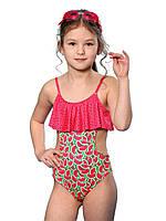 Сдельный купальник для девочки Keyzi, от 7 до 11 лет, Watermelon small 1psc