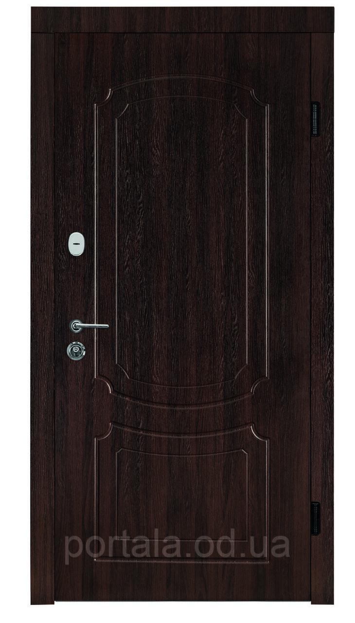 """Входная дверь """"Портала"""" серия Трио ― модель Оксфорд (Три контура)"""