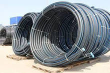 Поліетиленові труби водогазопровідні 50х2,4 ПЕ 100 і ПЕ 80, SDR 26,21,17,11