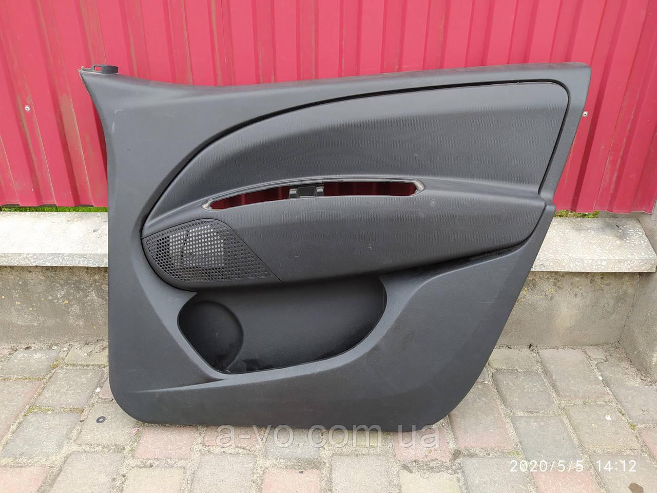 Карта обшивка двери передняя правая Opel Combo Fiat Doblo  735469697  735455641