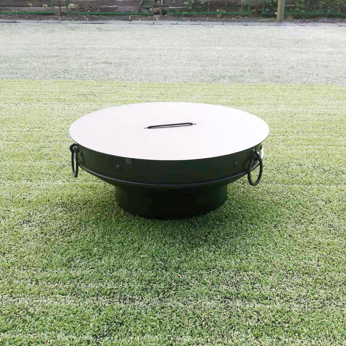 Крышка круглая для очага 600