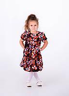 Детское платье с принтом мишек