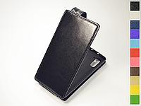 Откидной чехол из натуральной кожи для Samsung Galaxy Note 10 N970 / Galaxy Note 10 5G N971