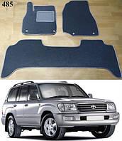 Коврики на Toyota Land Cruiser 100 '98-07. Текстильные автоковрики, фото 1