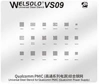 Трафарет BGA Mechanic VS09 универсальный для Qualcomm PMIC (PM8084 / PM8028 / PM8952)