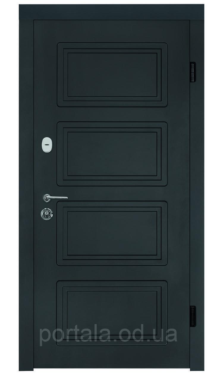 """Входная дверь для улицы """"Портала"""" (серия Концепт RAL) ― модель Дублин"""