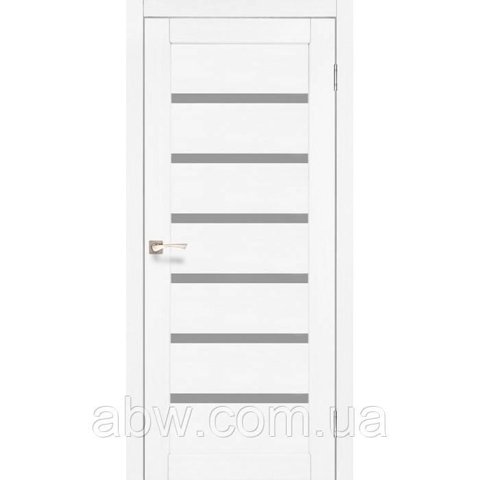 Міжкімнатні двері Korfad PR-01 білий ясен