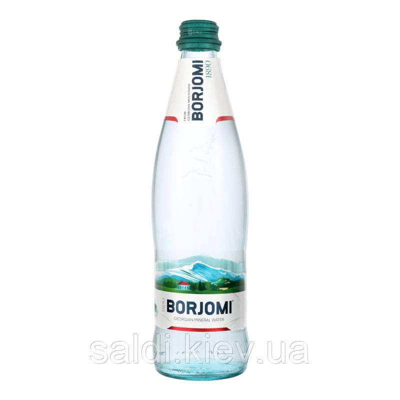 Вода Мінеральна Сильногазована Боржомі 0.5 л Стікло