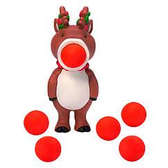 Игровой набор Стреляющий зверек Олень Squeeze Popper (54530)