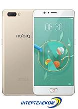 "ZTE Nubia M2 Gold (NX551J) CDMA / 4/64 Gb /  5.5"" AMOLED / Snap 625 / 13Мп / 3630мАч + чехол + стекло"