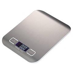 Ваги кухонні Lesko SF-2012 Silver електронні LCD дисплей цифрові для кухні