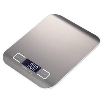 Весы кухонные Lesko SF-2012 Silver электронные цифровой LCD дисплей компактные