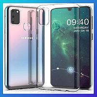 Samsung Galaxy M21 (M215) защитный чехол Transparent \ захисний чохол