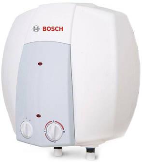 Накопительный водонагреватель 10 литров BOSCH Tronic 2000 10B над мойкой (бойлер)