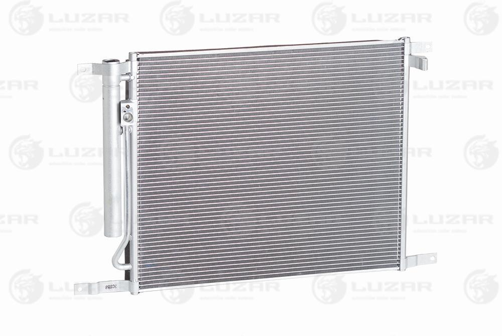 Радиатор кондиционера Авео /T255 (08-) с ресивером Luzar LRAC 0581 95227758 94838818
