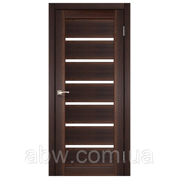 Міжкімнатні двері Korfad PR-01 горіх
