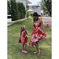 Платье Мама и дочка  familylook, фото 1