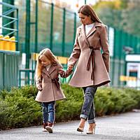 Комплект  пальто Мама и Дочка, фото 1