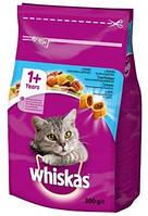 Сухой корм с Тунцом для взрослых кошек 300 г Whiskas Вискас