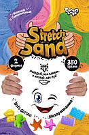 """Креативна творчість """"Stretch Sand"""" пакет 350г рос /12/ (STS-04-02)"""