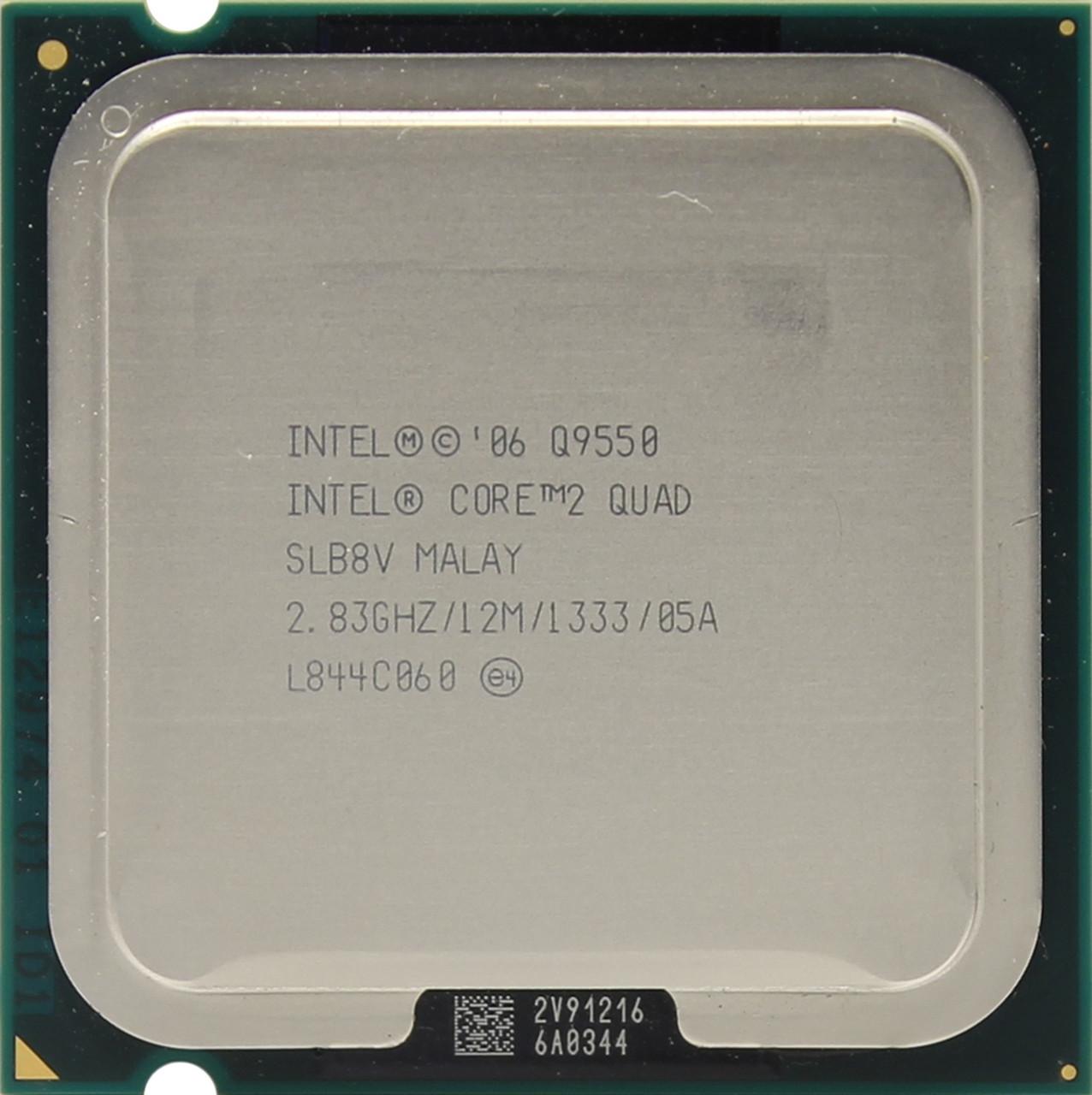 Процессор Intel Quad Q9550 4/4 2.83GHz 12MB LGA 775 tray