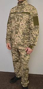 """Костюм річний армійський в камуфляжі """"Піксель ВСУ (ММ-14)"""" з тонкої тканини сорочкової"""