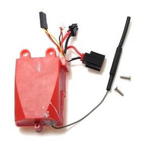Электроника красный цвет (запчасть для катера FeiLun FT007)