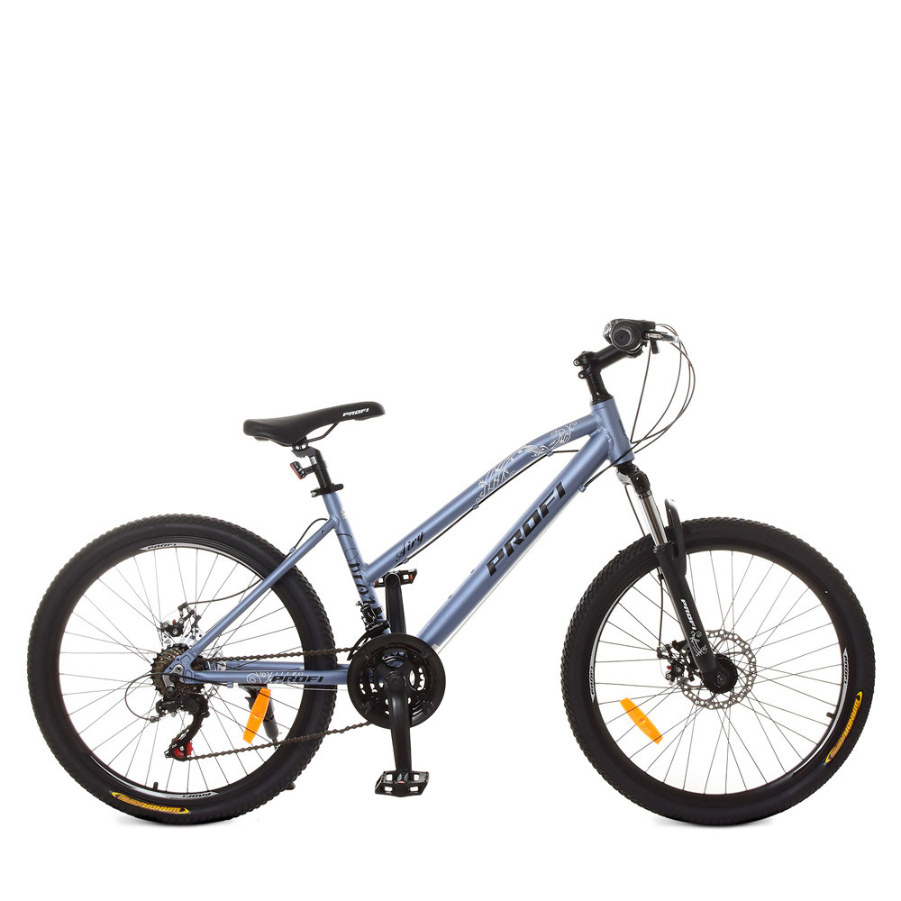 "Велосипед 24 д. G24AIRY A24.2 (1шт)алюм.рама 15"",SHIMANO 21SP,алюм.DB,CS TZ500,лилов.металлик"