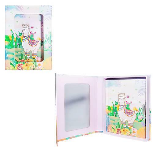 """Блокнот в подарочной упаковке """"Веселая лама"""" 56 листов, Malevaro"""