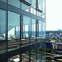 Панорамные алюминиевые окна ALUTECH