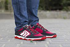 Кросівки чоловічі сітка червоні 41р, фото 2