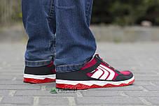 Кросівки чоловічі сітка червоні 41р, фото 3
