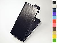 Откидной чехол из натуральной кожи для Sony Xperia 10 Plus I4213 (XA3 Plus)