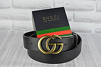 Модный кожаный ремень в стиле Gucci (Гуччи)